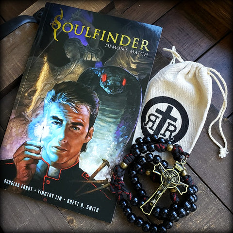 Soulfinder Rosary and Graphic Novel Set - Demon's Match