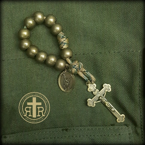 Soldier's St. Michael Pocket Rosary