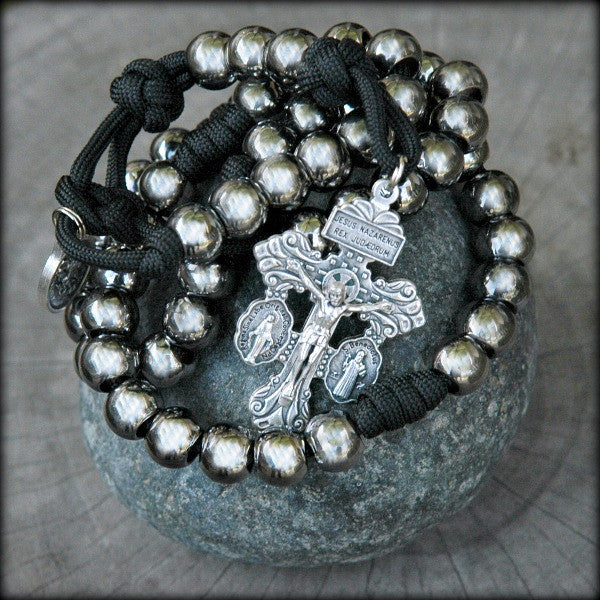 Paracord Rosary for men