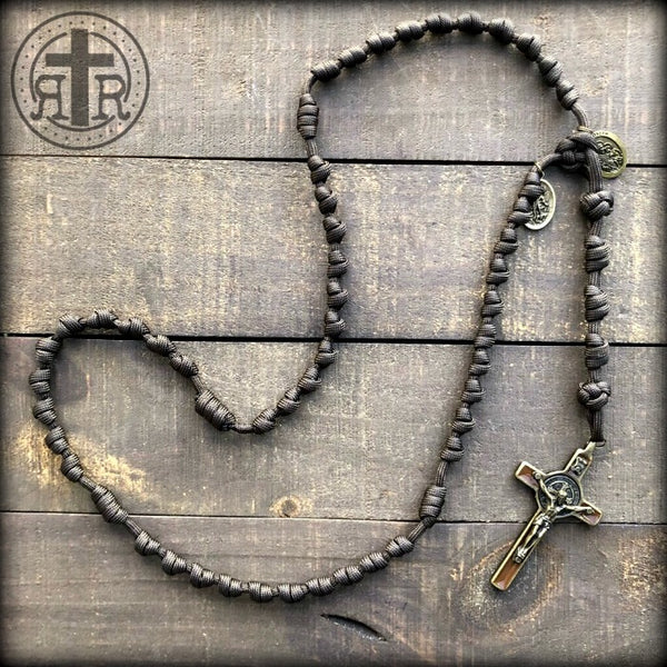 z - Custom Knotted Rosary for David A