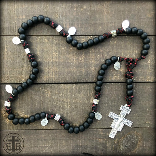 z - Custom Seven Sorrows Rosary for Deacon Frank