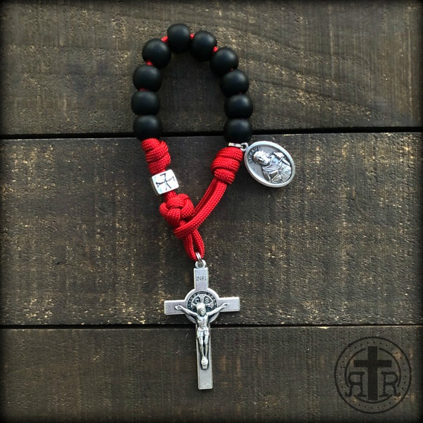 z - Custom Pocket Rosary for Joe P