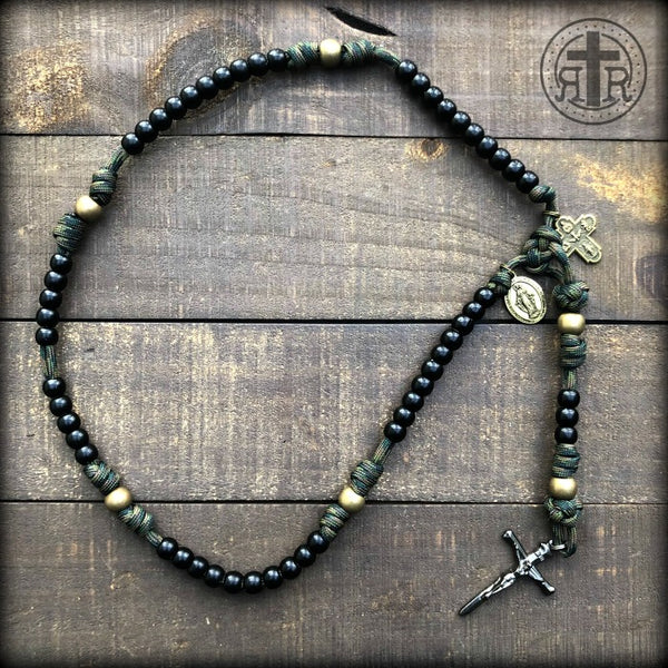 z - Custom Slide and Stick Rosary for John B