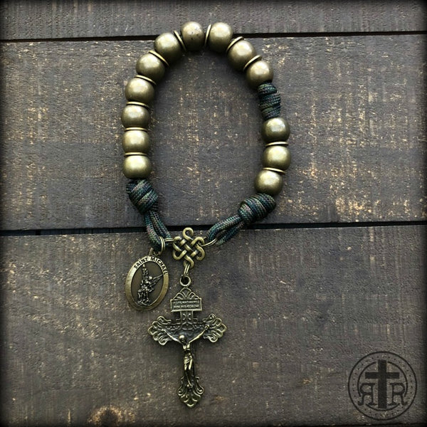 z - Custom Pocket Rosary for Michael R
