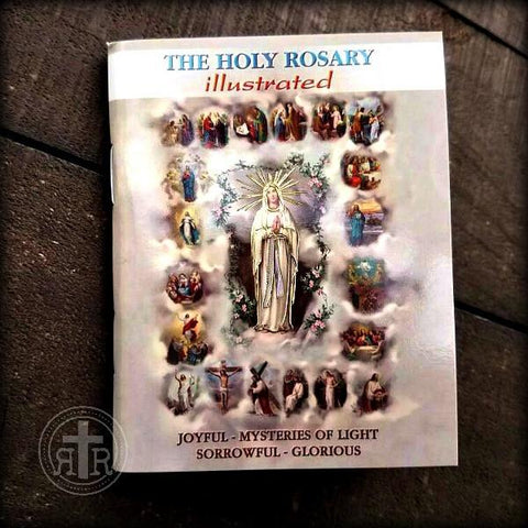 The Holy Rosary - Illustrated Book