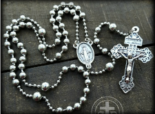 Combat Rosaries are replica WWI Service combat rosaries | WWI Battle Beads