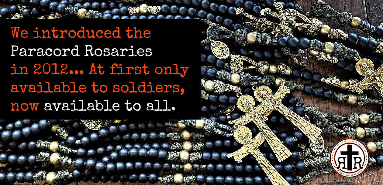 Paracord Rosaries