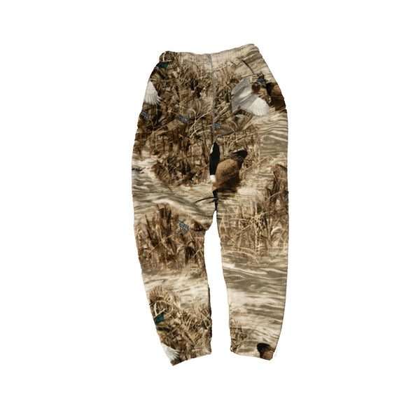 Ducks & Fish Polar Fleece Sweatpants