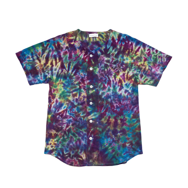 Tie-Dyed Baseball Jersey