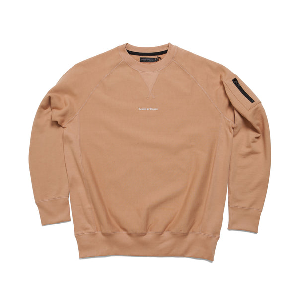 Micrologo Crewneck Sweatshirt - Raised by Wolves