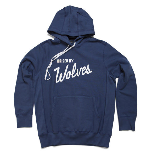 Varsity Hooded Sweatshirt - Raised by Wolves