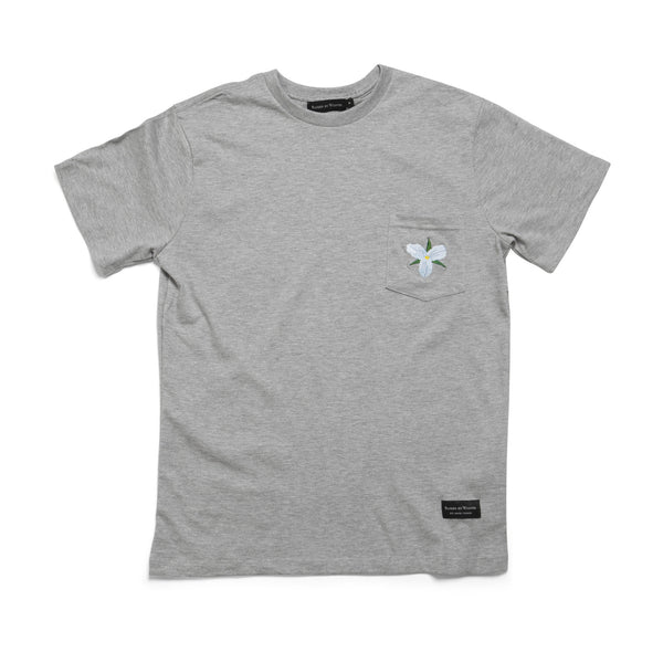 Trillium Pocket T-Shirt - Raised by Wolves  - 1