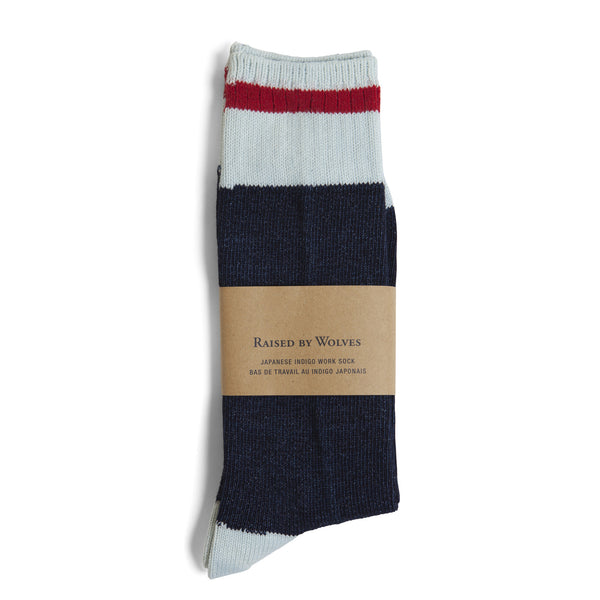 Indigo Work Socks - Raised by Wolves  - 2