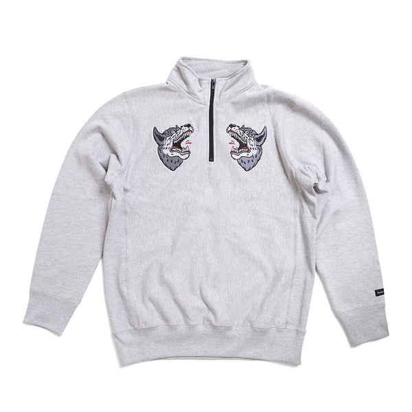 Souvenir 1/4 Zip Sweatshirt - Raised by Wolves  - 1