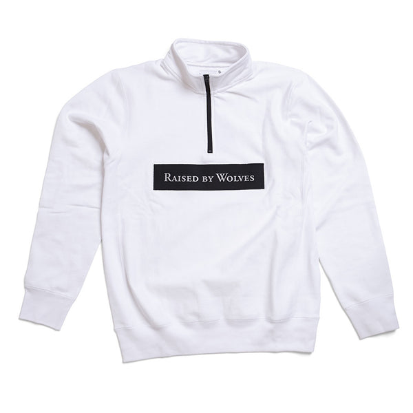 3M Reflective Logotype 1/4 Zip Sweatshirt - Raised by Wolves  - 1