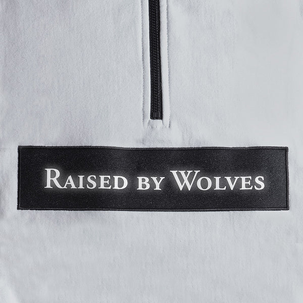 3M Reflective Logotype 1/4 Zip Sweatshirt - Raised by Wolves  - 2