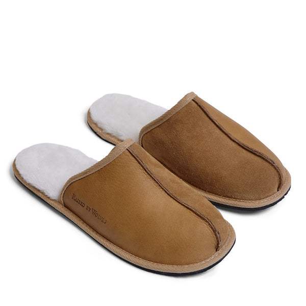 Sheepskin Mule Slippers - Raised by Wolves  - 1