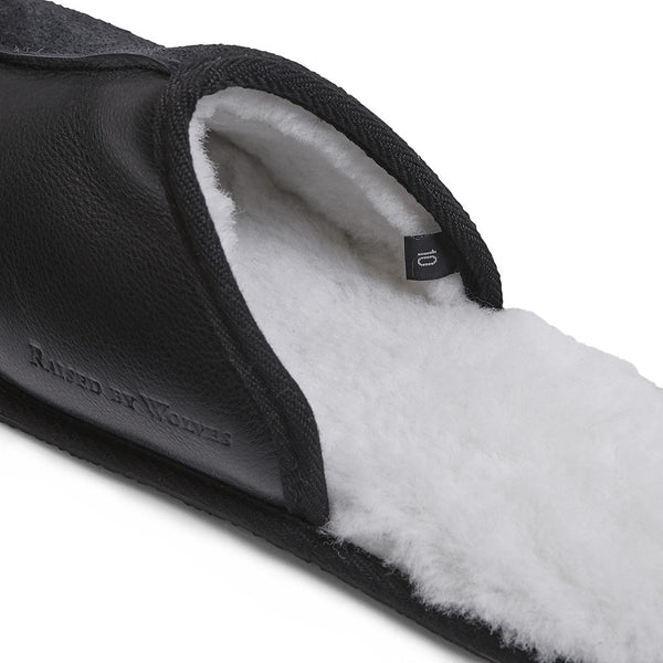 Sheepskin Mule Slippers - Raised by Wolves  - 3