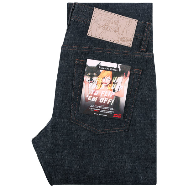 RBW x Naked & Famous Fuck Off Selvedge Denim