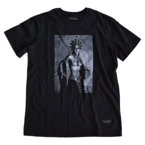 Aaliyah T-Shirt - Black - Raised by Wolves  - 1