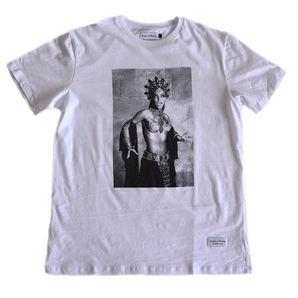 Aaliyah T-Shirt - White - Raised by Wolves  - 1