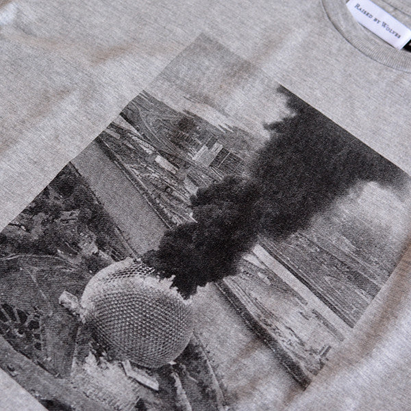 1976 T-Shirt - Heather Grey - Raised by Wolves  - 2