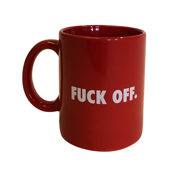 FUCK OFF Mug - Raised by Wolves  - 1