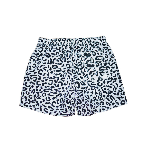 RBW/BATHER Leopard Camo Swim Trunks