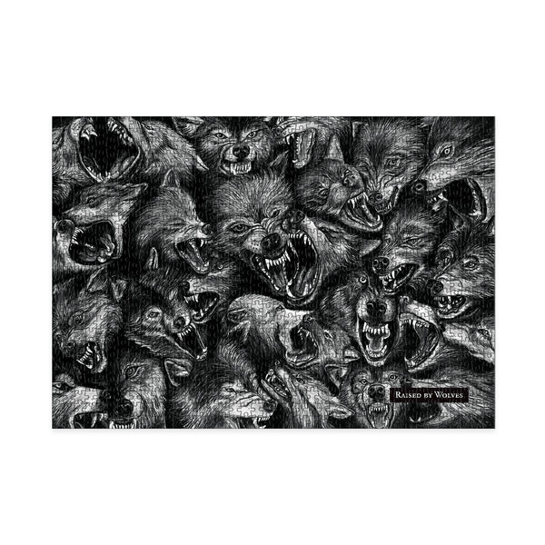Wolf Pack Jigsaw Puzzle