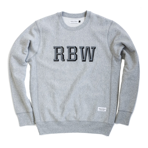 Acro Crewneck - Heather Grey - Raised by Wolves