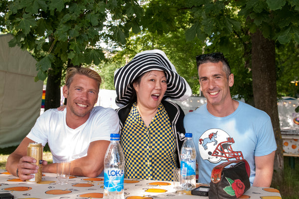 Terry Hecker, Margaret Cho and Dan Savage