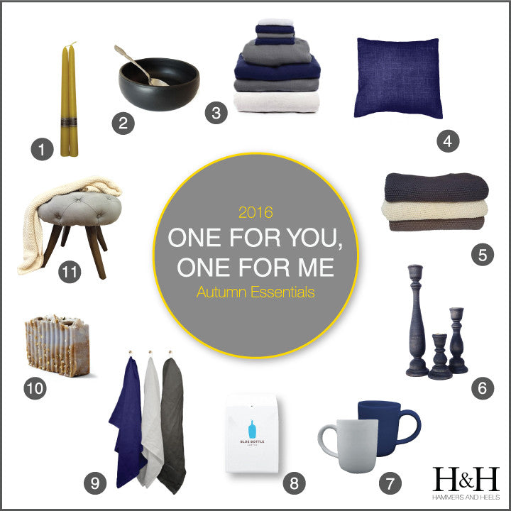 One For You, One For Me: 2016 Autumn Essentials Gift Guide