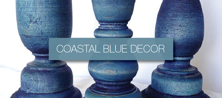 Coastal Blues Decor Collection from Hammers & Heels