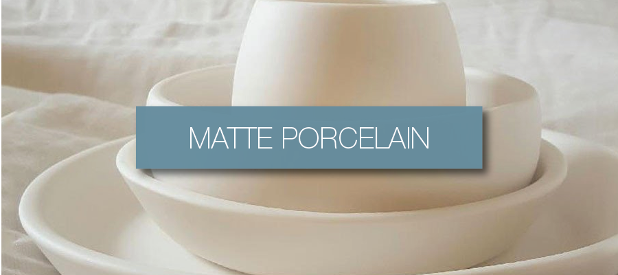 Handmade Matte Porcelain Dinnerware Collection from Hammers & Heels