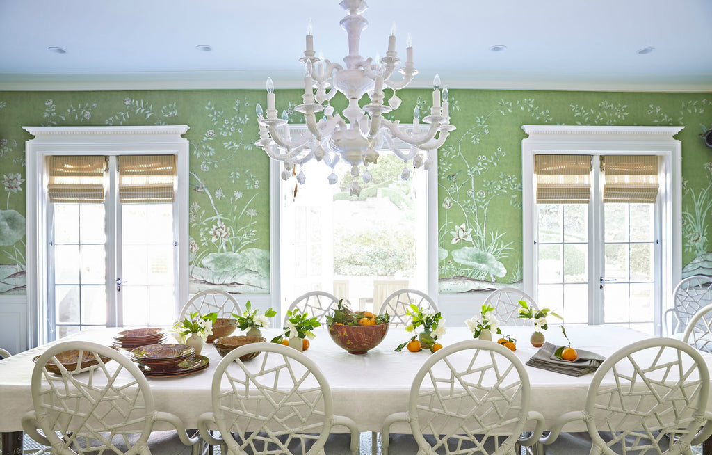 Pantone's Color of the Year Bring This Dining Room to Life