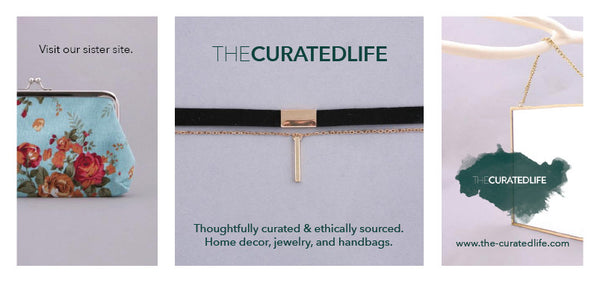 The Curated Life Thoughtfull Curated, Ethically Sourced Decor, Handbags, and Jewelry