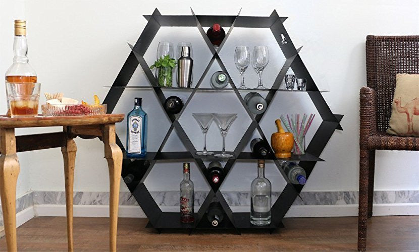 Hexagon Wine Bar Geometric Furniture