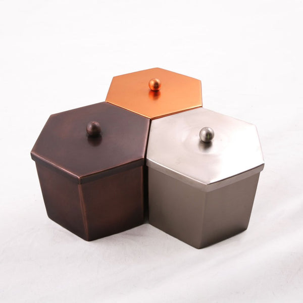 Hand Welded Metal Canisters