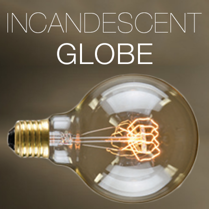 Incandescent Globe Antique Replica Filament Bulb - Hammers and Heels  - 1