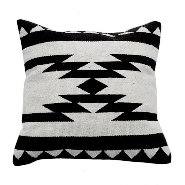 Decorative Geometric Print Throw Pillow