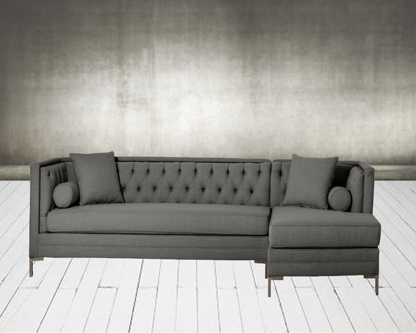 Custom Mid Century Modern Sectional Sofa - Hammers and Heels  - 1