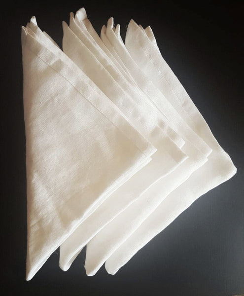 "USA Made French Linen 18"" Dinner Napkin - Hammers and Heels  - 6"