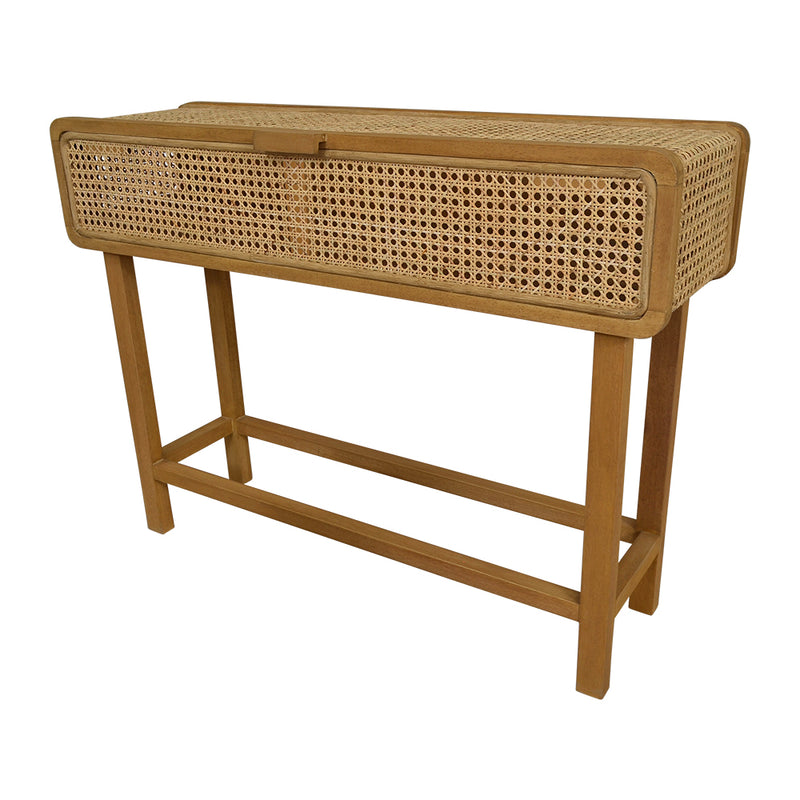 Seabrook Rattan Console Table