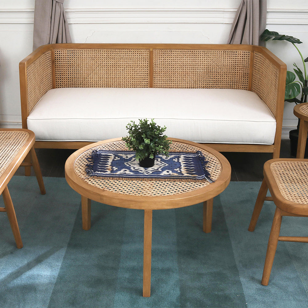 Seabrook Rattan Couch
