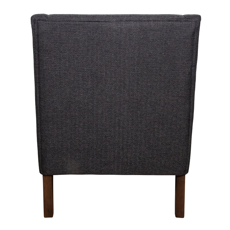 Copy of Spencer Winged Arm Chair Charcoal