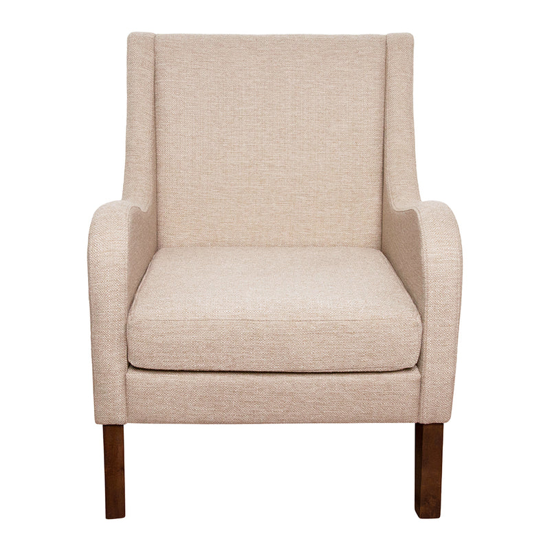 Spencer Winged Arm Chair Charcoal