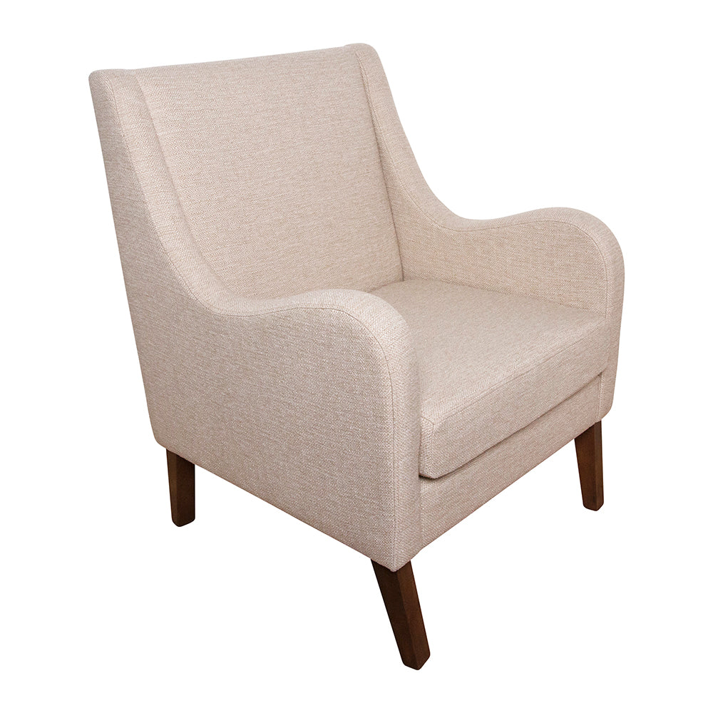 Spencer Winged Arm Chair Sandstone