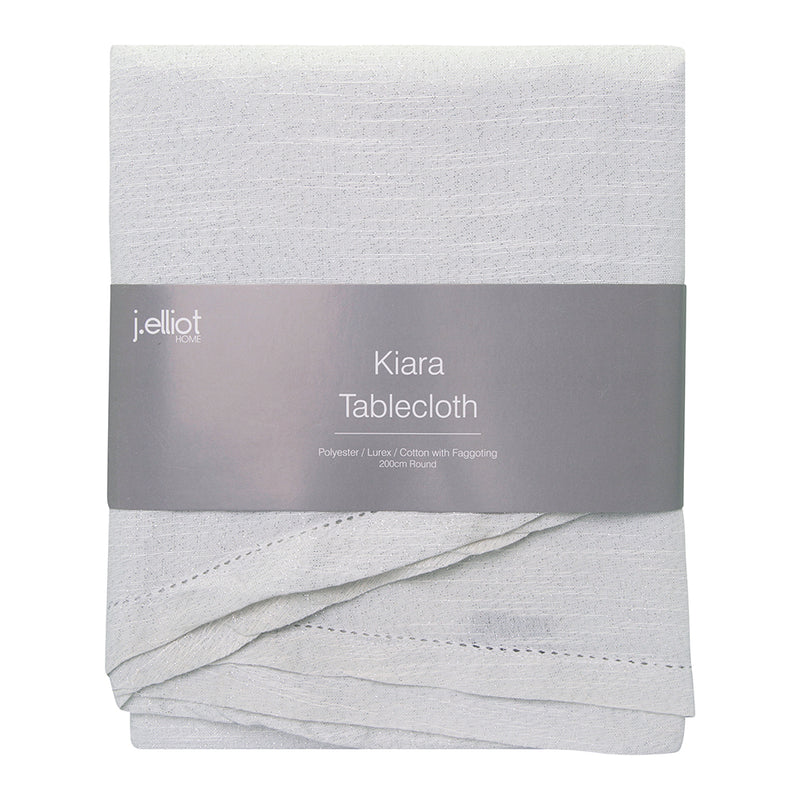 Kiara Table cloth with Fagotting