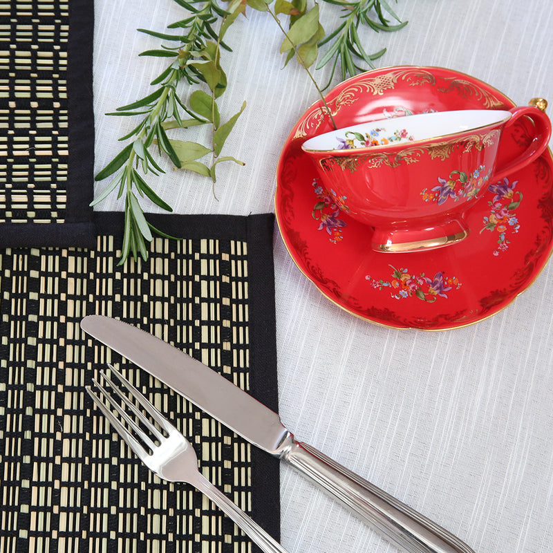 Neva Table cloth with Fagotting
