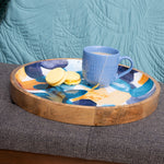 Bloom Wooden Decal Tray